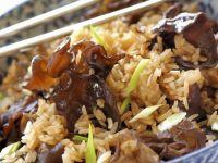Reispfanne mit Pilzen Rezept