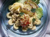 Reissalat mit Hähnchen Rezept