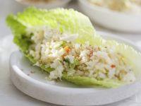 Reissalat mit Krabbenfleisch Rezept