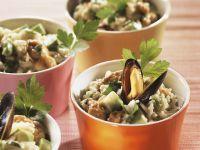 Reissalat mit Muscheln Rezept
