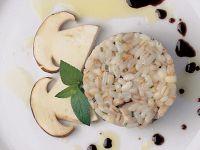 Reissalat mit Seeteufel und Steinpilzen Rezept