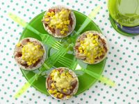 Reiswaffel-Gemüse-Snack »Riesenrad« Rezept
