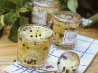 Relish mit Äpfeln und Kapern Rezept