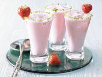 Rhabarber-Erdbeer-Smoothie Rezept