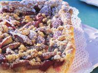 Rhabarberkuchen mit Streuseln Rezept