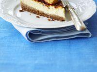 Ricotta-Pfirsich-Kuchen