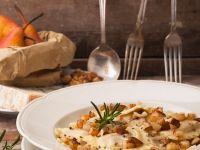 Ricotta-Ravioli mit Birne Rezept