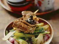 Rind mit dunklen Bohnen und Gemüse Rezept