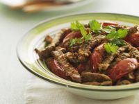 Rind-Paprika-Curry Rezept