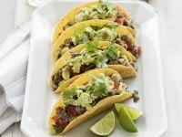 Rinder-Tacos mit Guacamole Rezept