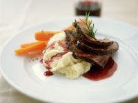 Rinderbraten mit Soße aus Rotwein Rezept