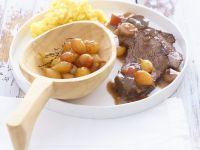 Rinderbraten mit Zwiebelchen Rezept