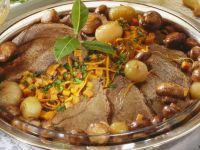Rinderbraten nach Burgunder Art Rezept