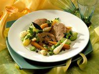 Rinderbrust mit frühlingshaftem Gemüse Rezept