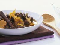 Rindereintopf mit Orange und Ingwer Rezept
