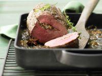 Rinderfiletbraten mit Pilzfüllung Rezept