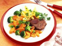 Rinderschmorbraten mit Gemüse Rezept
