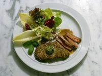 Rindersteak mit Salat Rezept