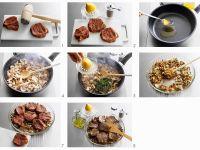 Rindersteaks mit Champignons Rezept