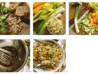 Rindfleisch-Gemüsesalat