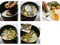 Rindfleisch-Gemüsesuppe Rezept
