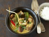 Rindfleisch in Kokos-Curry-Sauce Rezept