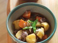 Rindfleisch-Kartoffel-Eintopf nach japanischer Art Rezept