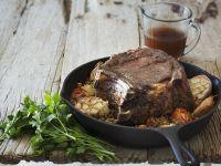 Rindfleisch mit Knoblauch Rezept