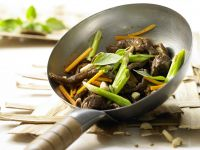 Rindfleisch-Shiitake-Wok Rezept