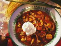 Rindfleisch-Topf mit Mais und Tomaten Rezept