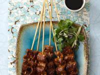 Rindfleischspieße mit Teriyakisoße Rezept