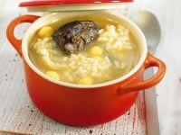 Rindfleischtopf mit Hülsenfrüchten und Reis Rezept