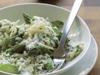 Risotto mit grünem Spargel Rezept
