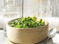 Risotto mit Ingwer und grünem Gemüse Rezept