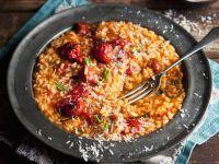 Risotto mit Tomaten und Parmesan Rezept