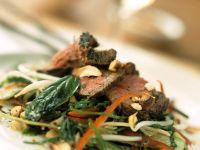 Roastbeef-Gemüsesalat Rezept