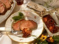 Roastbeef mit Kräutern und Confit Rezept