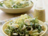 Römersalat mit Avocados und Palmherzen Rezept