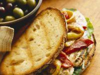 Röstbrot-Sandwich mit Paprika Rezept