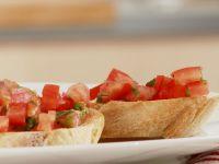 Röstbrote mit Tomaten
