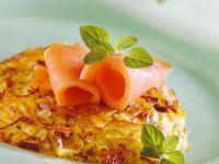 Rösti mit Sauerkraut Rezept