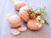 Rosen-Macarons Rezept