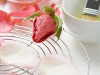 Rosenblüten kandieren Rezept