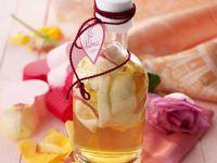 Rosenblütenlikör Rezept