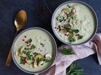 Rosenkohl-Dattel-Cashew-Suppe Rezept