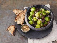 Rosenkohl-Maroni-Salat Rezept