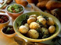 Rosmarinkartoffeln und Pesto Rezept