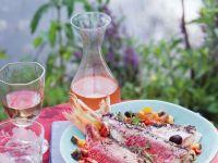 Rotbarben mit Olivenpaste Rezept