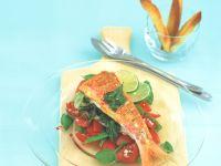 Rotbarben mit Tomaten-Salsa Rezept