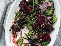 Rote Bete-Kräutersalat Rezept